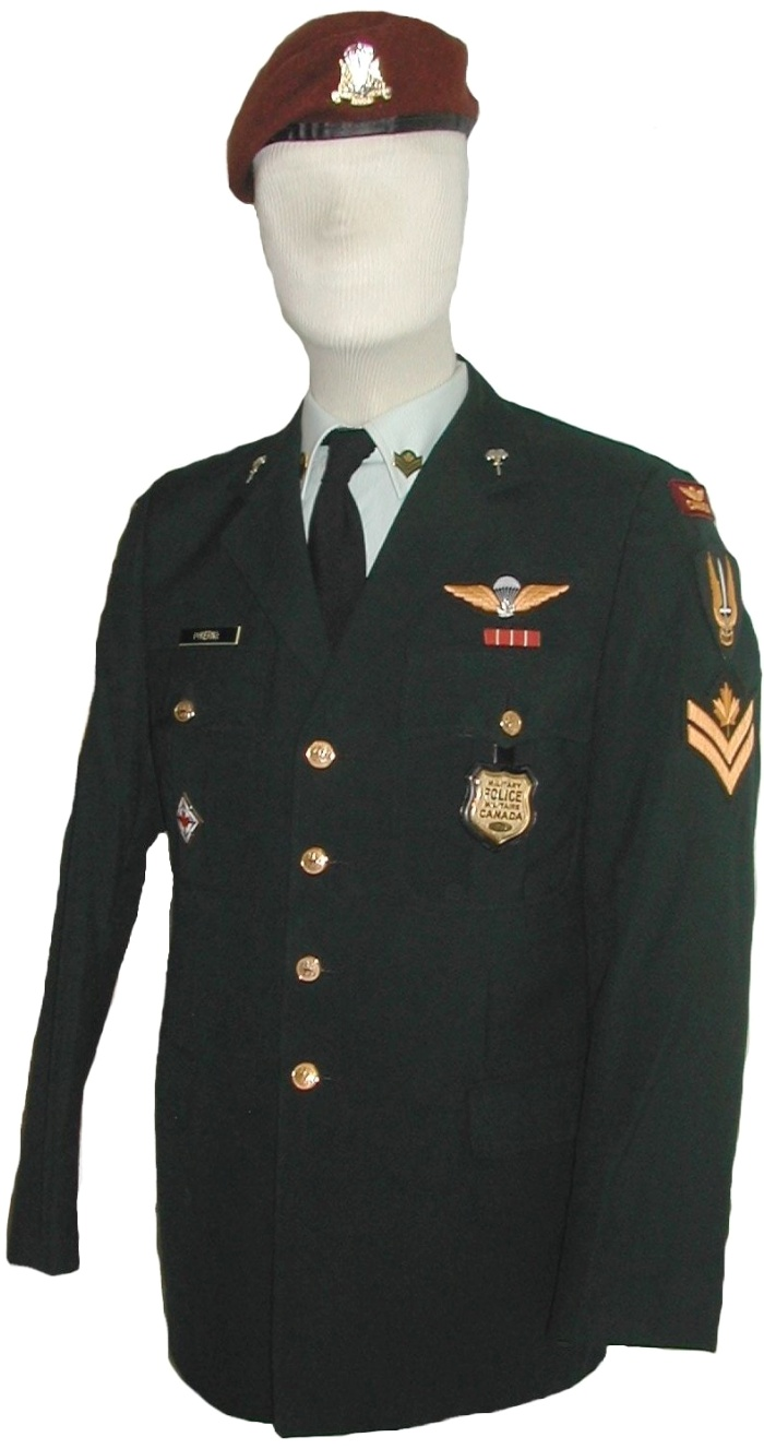 Canadian Paratrooper Uniform